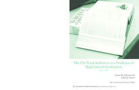 The On-Track Indicator as a Predictor of High School Graduation