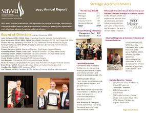 SAWA 2015 Annual Report