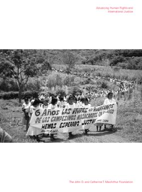 Advancing Human Rights & International Justice